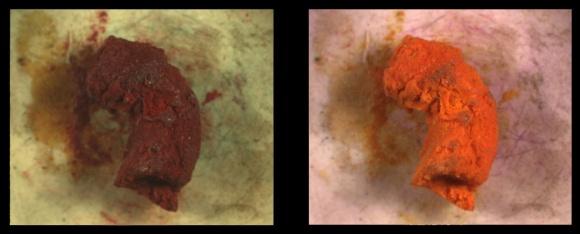 Ghikas red pigment vis-ir