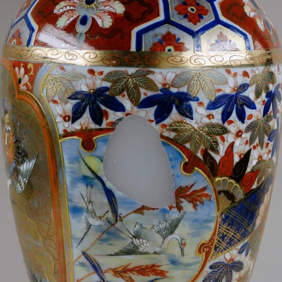 Ceramic 01 During Conservation