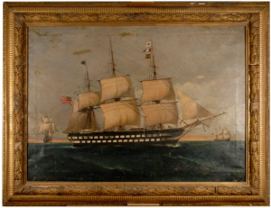 Painting 1 Before conservation 01