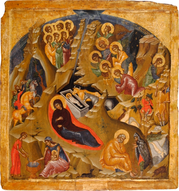 The Nativity (Volpi) after conservation