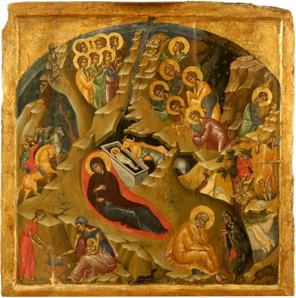 The Nativity (Volpi) before conservation